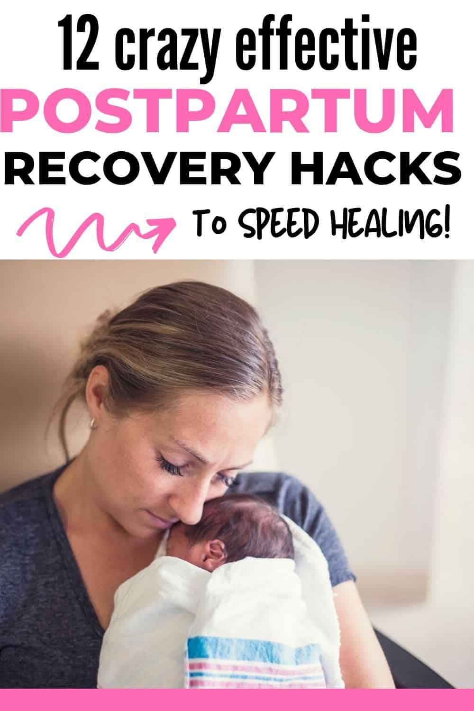 postpartum recovery hacks