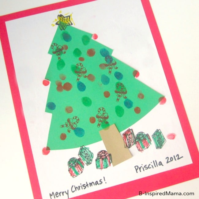 Fingerprint-Tree-Kids-Christmas-Craft