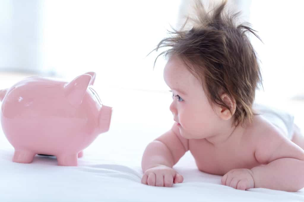 how much does a baby cost per month