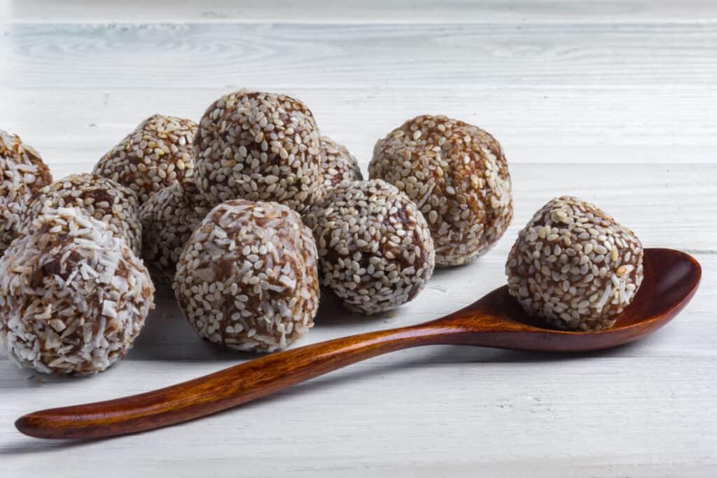 protein balls pregnancy snack