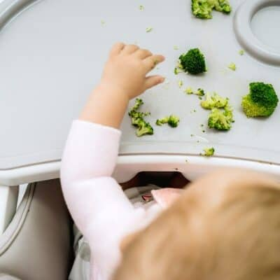 Getting started with baby-led weaning
