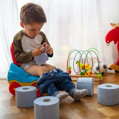 How to potty train a stubborn 3 year old